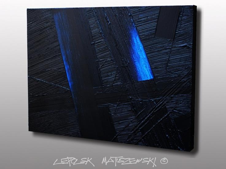 DARK INTENSITY by Lepolsk Matuszewski Fine art ( FR) - Expressionnisme abstrait contemporain / contemporary expressionism abstract. www.lixow.com/... weblog www.lepolsk.com