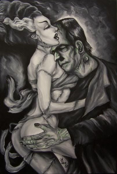 ✯ Frankenstein - one day I will find my Frankenstein. An amalgam of all the best parts without any of the really bad parts. Flaws are fine, deceit is not. I still believe my soulmate exists. Warm, cuddly, loving, amazing, well worded, lively, young at heart, into the arts, honest, protective of my heart. Until then, my heart is on lockdown.
