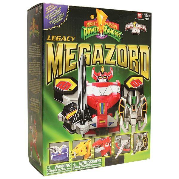 DX  Legacy 1st Megazord - Bandai - Avec la gamme de produits collector Power Rangers Legacy, revenez aux sources de cette fantatisque saga, lancée aux Etats-Unis en 1993 et peu de temps après en France avec la première saison Power Rangers Mighty Morphin.  #PowerRangers #Jouet #Enfants #Bandai #Megazord