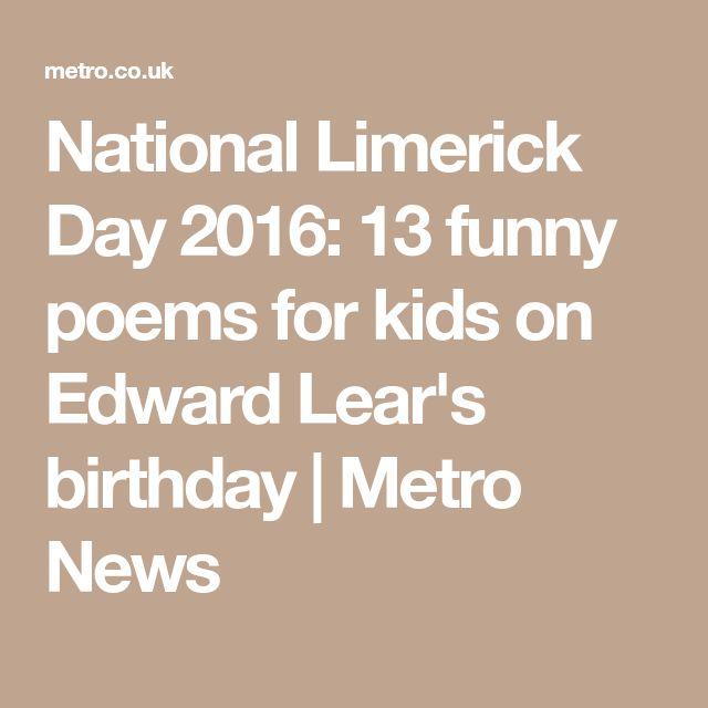Best 25+ Funny Poems For Kids Ideas On Pinterest