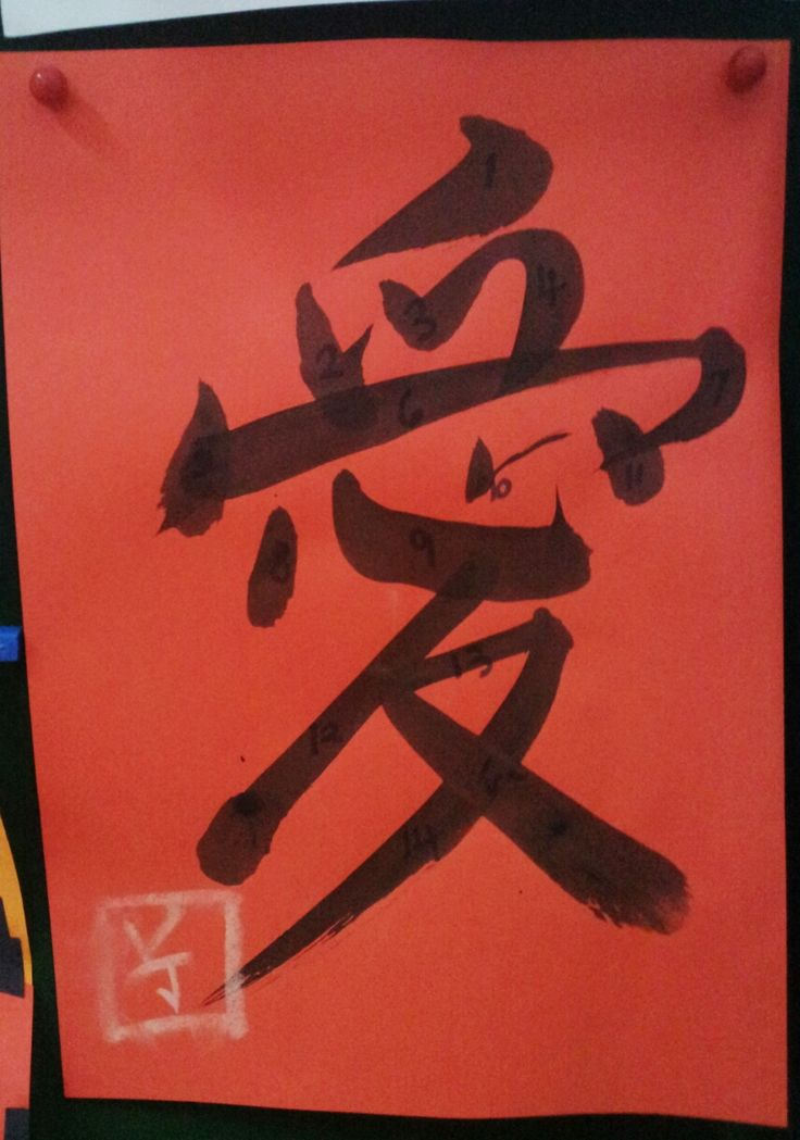 Chinese Calligraphy Brush Strokes