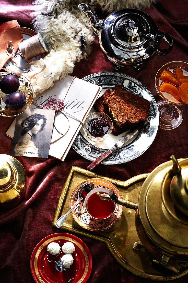 Russia. Tea time
