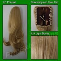 Pro-Extensions PRPY-24 #24 Light Blonde Ponytail
