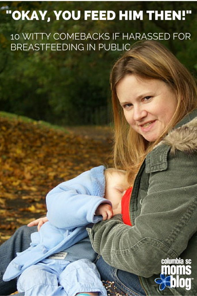 """""""Okay, You Feed Him Then!"""" - 10 Witty Comebacks if Harassed for Breastfeeding in Public 