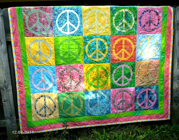17 Best Images About Peace Quilts On Pinterest Peace On