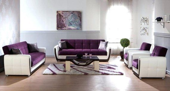 Abstract Painting Purple Wall Art Modern Painting Fine Home Etsy Purple Living Room Furniture Living Room Decor Purple Purple Living Room