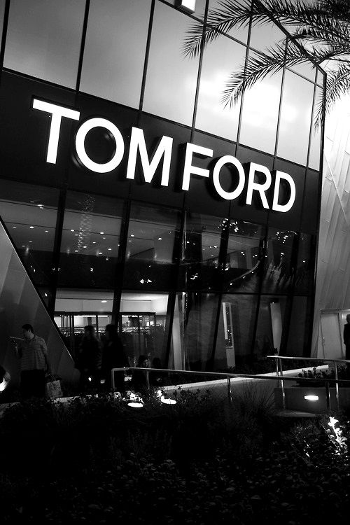 Tom Ford Store for a shopping spree.