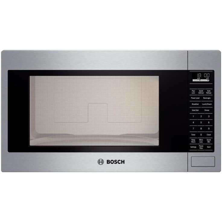 Bosch HMB5051 500 Series Built In Microwave Oven 1200 Watts Stainless Steel