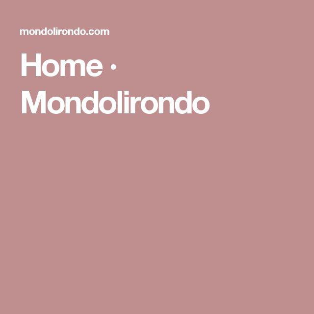 """Me gusta el nombre """"Mondolirondo"""" como agencia. No el diseño para nosotros de la web pero si el concepto de boutique creativa cara para marcas"""