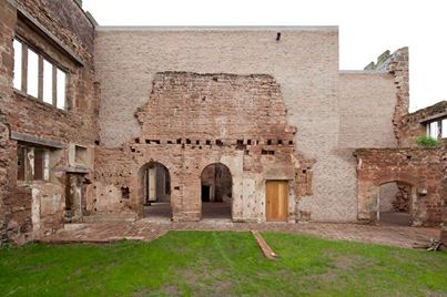 Astley Castle, a house for 8 people within the ruins of a 12th century castle…