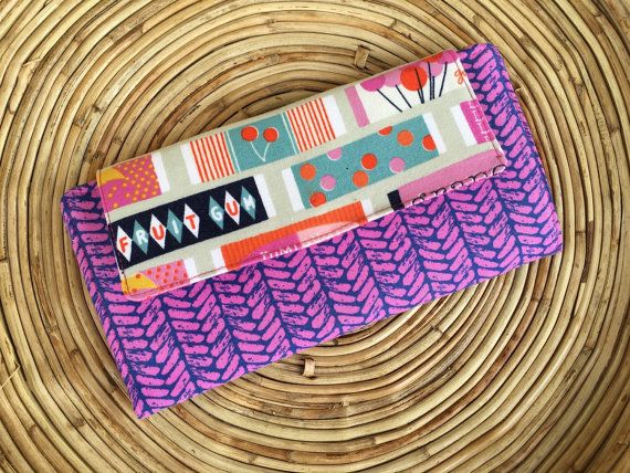 Fiona Wallet-Women's Wallet-Retro Gum Wrapper by MadebyKristyC