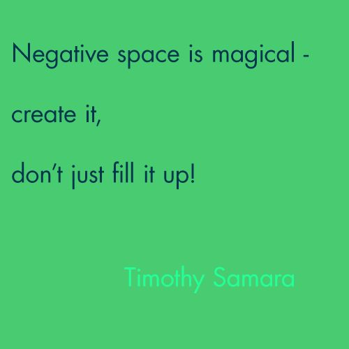 Timothy Samara Graphic Design Quotes