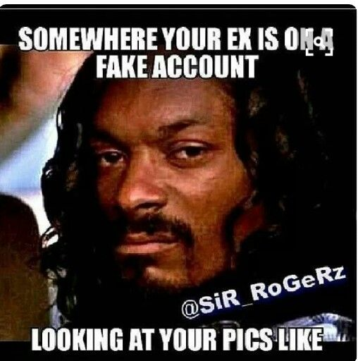 Funny Ex Husband Meme : Images about 《to my stalker bitch》 on pinterest