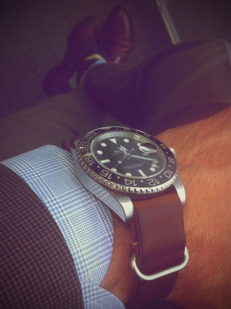 great looking sub: Sock, Russia, Confetti, Gentleman Style, Cocktails, Honey Chicken Kabobs, Lights Blue, Rolex, Leather Nato
