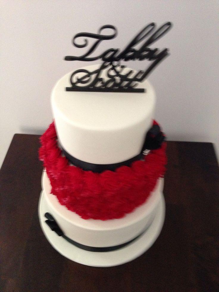 Wedding cake #brownsugarcakes.com.au