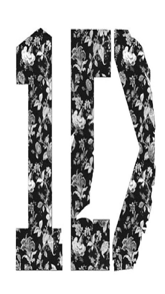 Floral One Direction Iphone Wallpaper Background