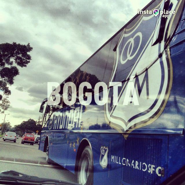 El bus de Millonarios