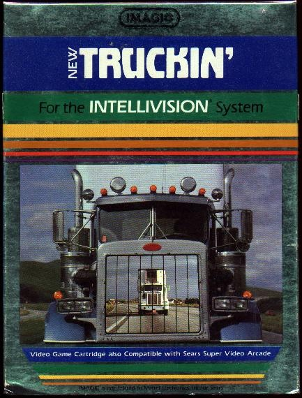Truckin' (1983) for Mattel Intellivision.