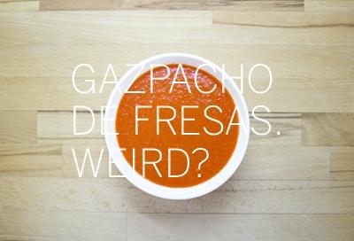 Gazpacho indie. (Consultar receta en la web).
