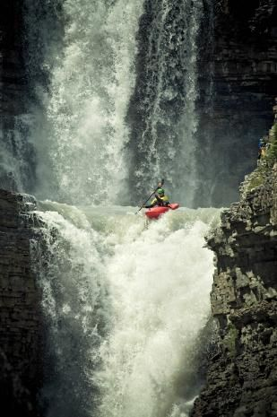 extreme~ !: Extreme Sports, Waterfall Curtain, Bucket List, Waterfalls, Outdoor Adventures, 50 Foot Waterfall, Extreme Kayaking