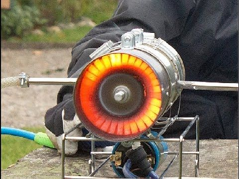 Homemade Jet Engine Plans - YouTube