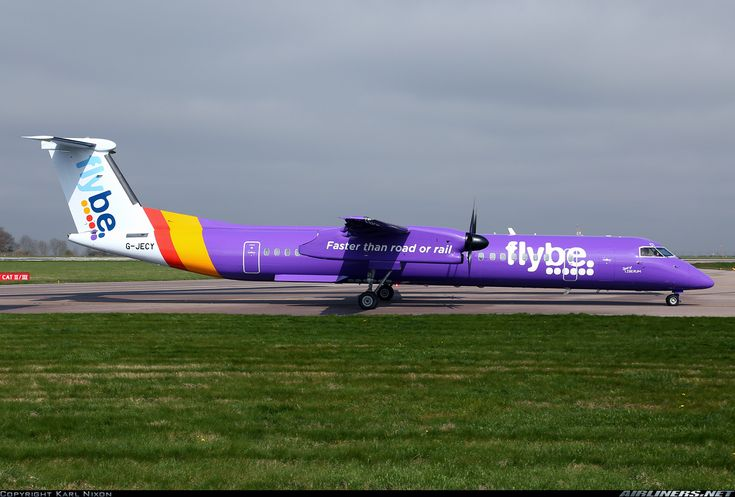 Flybe - British European G-JECY De Havilland Canada DHC-8-402Q Dash 8 aircraft picture