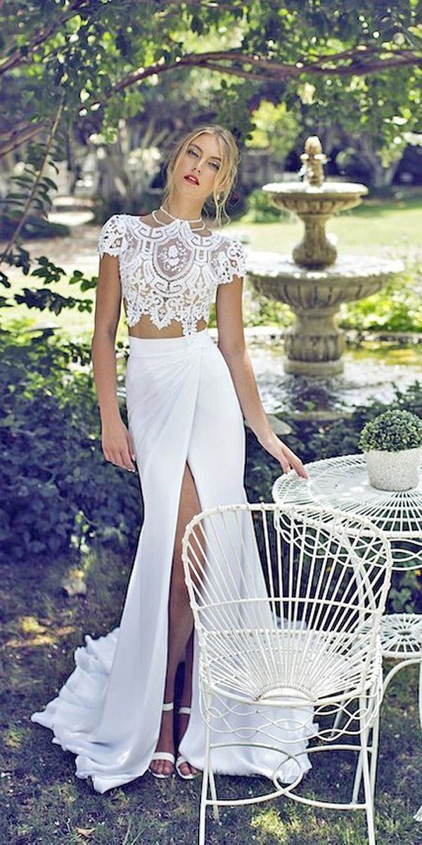 Bridal Separates Gowns And8211 Breaking The Rules See More