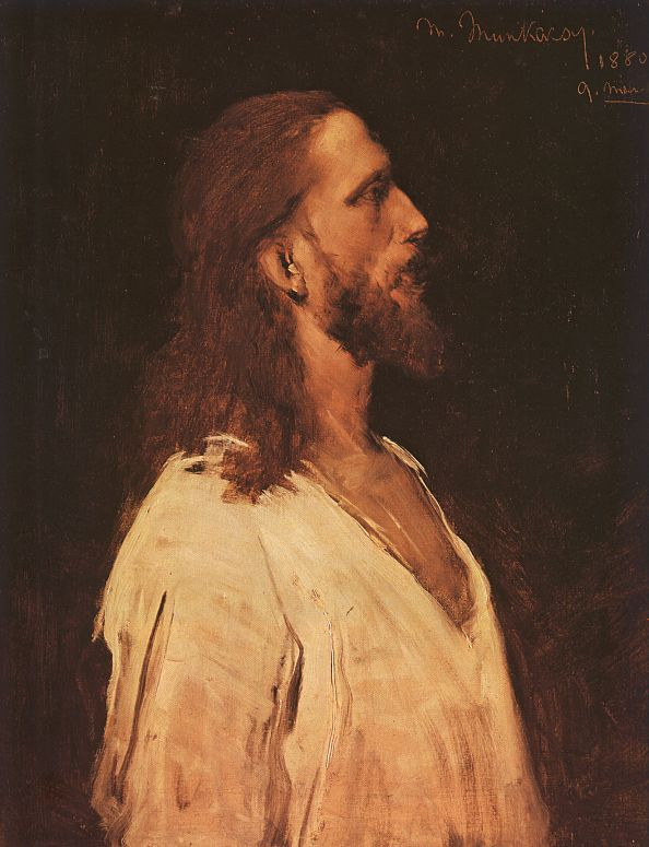 "Mihaly Munkacsy | Study for ""Christ Before Pilate"""
