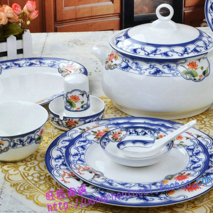 Cheap Dinnerware Sets on Sale at Bargain Price, Buy Quality bowl porcelain, dinnerware set, bowl plates from China bowl porcelain Suppliers at Aliexpress.com:1,Style:Traditional Chinese 2,Technique:In-glaze Decoration 3,Pattern Type:Plant 4,Dinnerware Type:Dinnerware Sets 5,Number of Pieces:>10