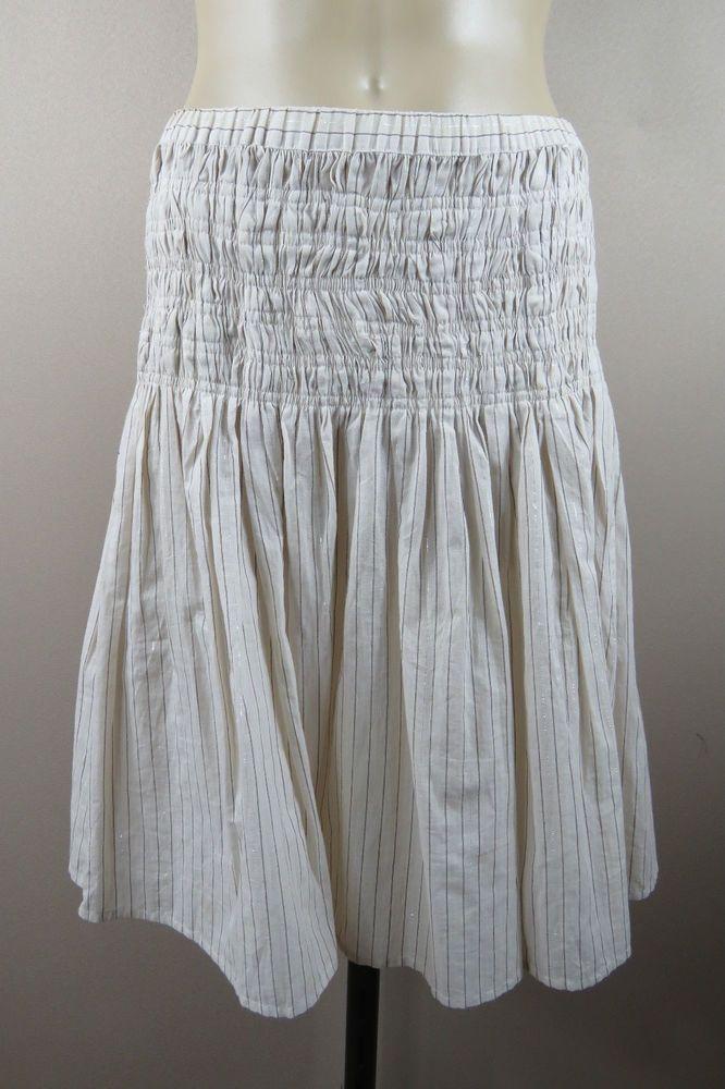 Size XXS 6 Sportsgirl Ladies Skirt Cotton Boho Chic Hippie Festival Casual Style