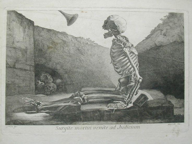 GAMELIN Jacques - Gravure pour  «Nouveau recueil d'ostéologie et de myologie, dessiné d'après nature» 1779