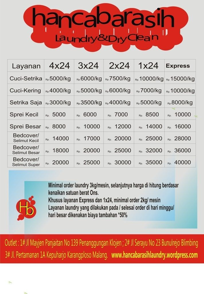 Laundry Kiloan Harga Google Search Pelayan