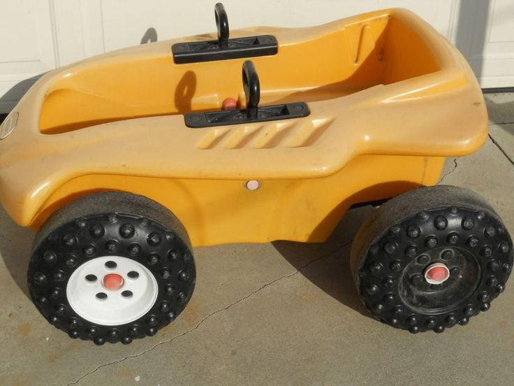 Little Tikes Yellow Sports Coupe Pedal Car