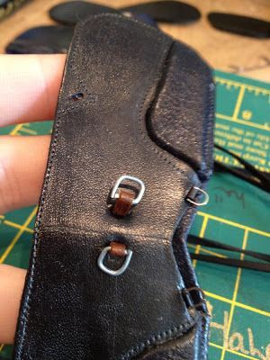 tuto selle 1 et 2 Braymere Custom Saddlery: tack tips