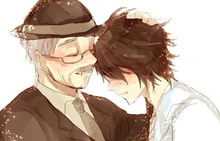 I bet Watari is so proud of L. I really miss both of them. I love you L!
