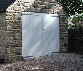 Traditional Joinery Made Timber Doors | Side Hinged Swing Doors Price Guide from The Garage Door Centre