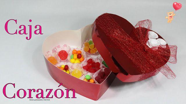 manualidades herme: Caja corazón para dulces