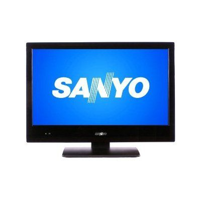 Sanyo 19in. LCD 720P 60HZ 19Class (18.5 Diagonal) LED LCD HDTV. Wide screen 16:9 Aspect Ratio. Native Panel Resolution: 1366 x 768 pixels. Integrated Digital Clear QAM /ATSC + Analog NTSC Tuner. Picture Settings: Brightness, Sharpness, Contrast, Color, Tint, Color Temp, Backlight.  #Sanyo #HomeTheater
