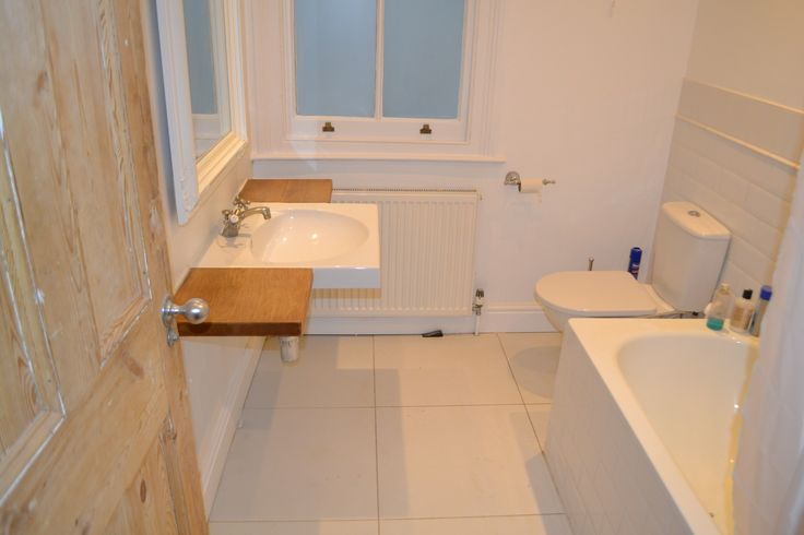 Large kitchen extension into side return Shepherds Bush W12 - bathroom