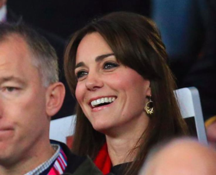 Kate attends England vs. Wales Rugby World Cup Match - What Would Kate Do?