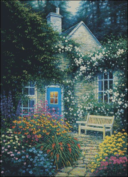 Welcome Home Counted Cross Stitch Patterns | Shinysun's Cross Stitching
