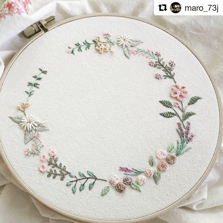 Embroidery. Lovely colour