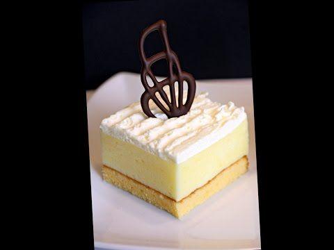 Cremeschnitten Variante I (mit Biskuitteig)/ Krempita varijanta I (sa biskvitom) - Hanuma Kocht! - Der zweisprachige Foodblog