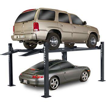Bendpak HD-7W 7,000 lb Extra Wide, Extra Tall 4 Post Car Lift