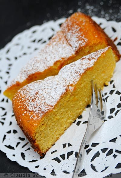 Mandel-Orangen-Kuchen - Orange & Almond Cake