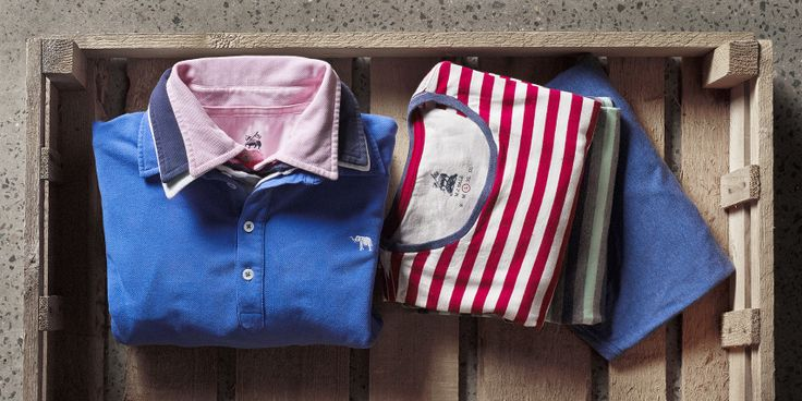 Polo's & Tee's. Perfect for a weekend getaway. www.mjbale.com