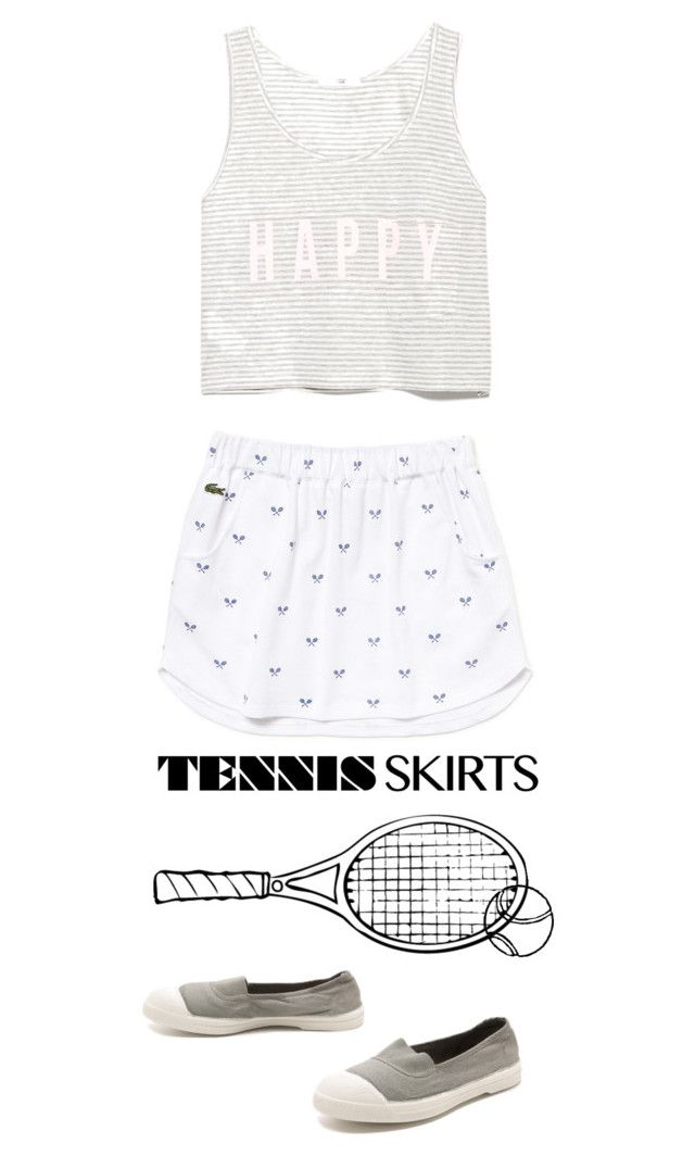 """work it *****"" by la224 ❤ liked on Polyvore featuring Lacoste, MANGO and Bensimon"