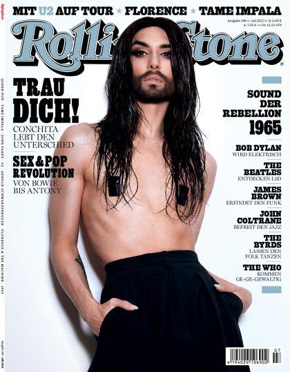 ROLLING STONE im Juli 2015 - Titelthema: Conchita Wurst - Rolling Stone
