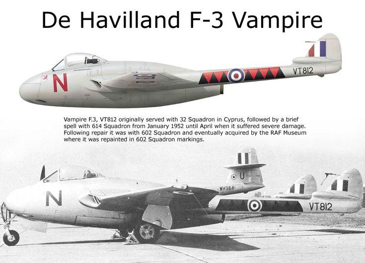 De Havilland F-3 Vampire