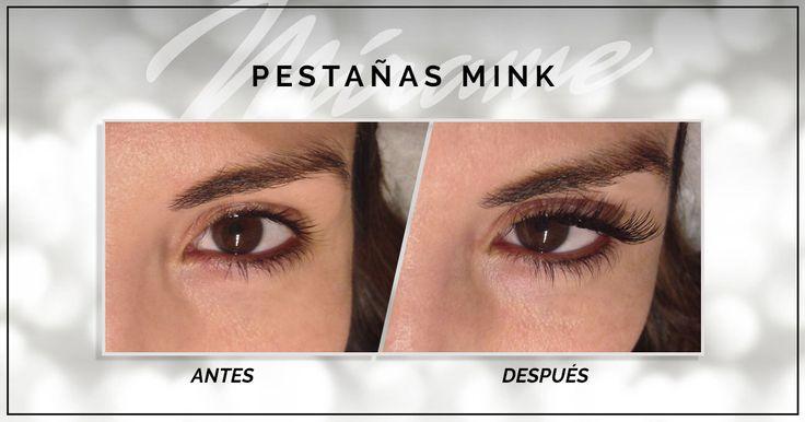 Extensiones de Pestañas 100% sintéticas  Mink miramexxl.com